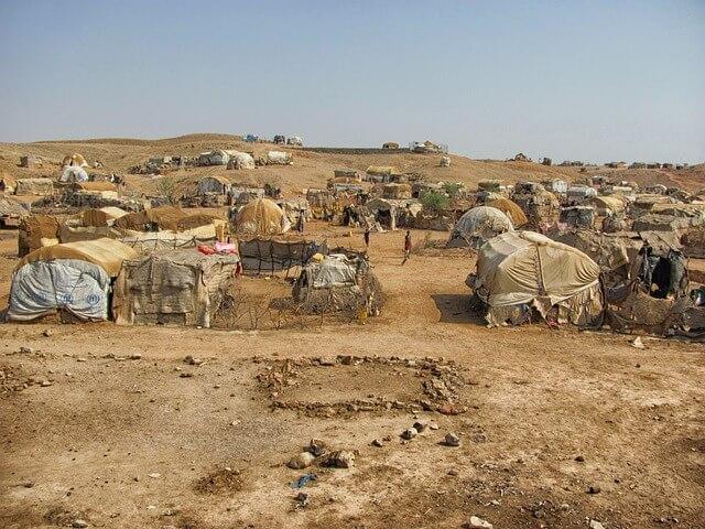 Image illustrative. Camp en Érythrée (Photo: David Mark / Pixabay)