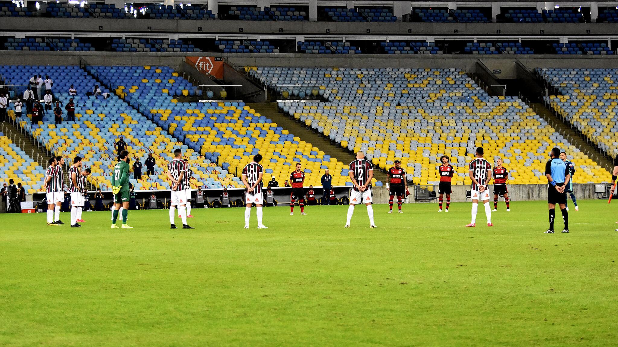 Fla-Flu à Maracanã le 8 juillet 2020 (Photo de Mailson Santana / FLUMINENSE FC via Photos publiques)