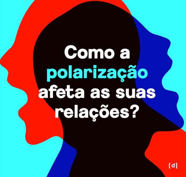 Image Instagram du projet Despolarize. Dans l'image, il y a la phrase