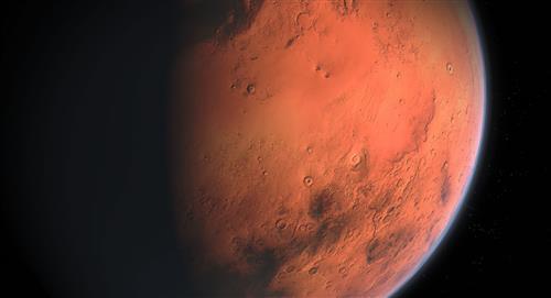 Les plaques glaciaires étaient celles qui ont formé les vallées de Mars