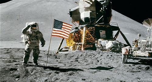 La Lune a connu une `` pluie '' d'astéroïde il y a longtemps