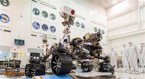 Le 'Rover Perseverance' est sur le point d'explorer Mars