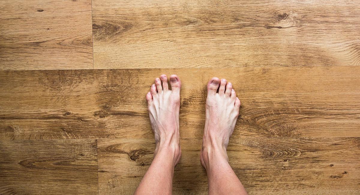 Vous devez vous connecter à la terre pour l'activer, en marchant pieds nus. Photo: Pixabay