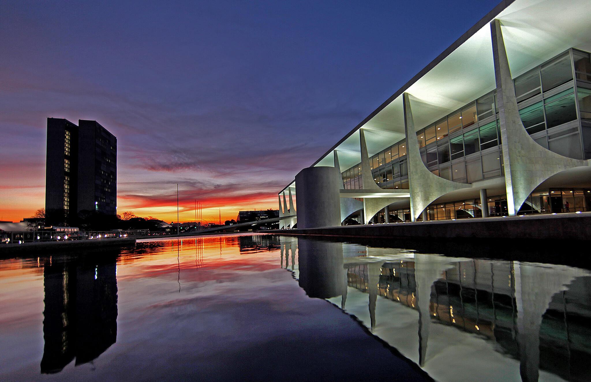 Image de Brasilia. Contenu des freins et contrepoids