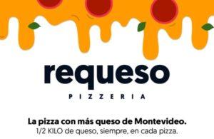 Requeso - La pizza avec le plus de fromage à Montevideo.