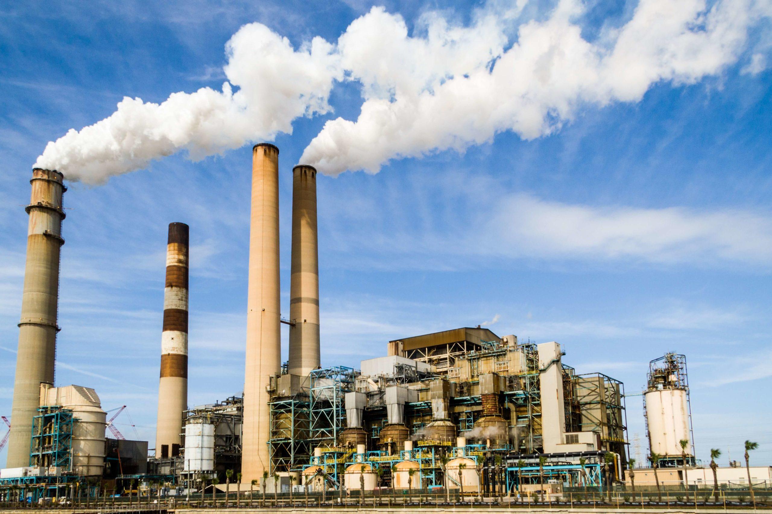 les industries. contenu en crédits carbone