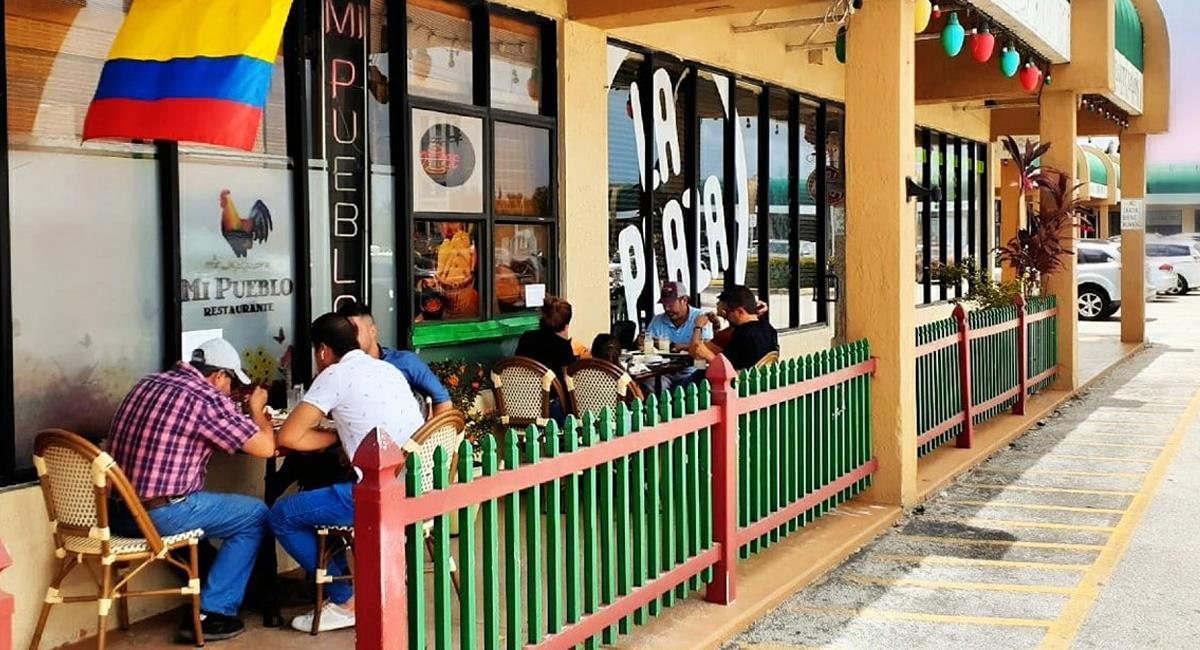 Dans le restaurant Mi Pueblo, vous pourrez profiter de la meilleure saveur colombienne. Photo: Restaurant Facebook Mi Pueblo