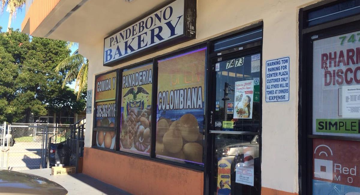 Pandebono Bakery est une boulangerie traditionnelle colombienne à Miami, en Floride. Photo: Facebook Boulangerie Pandebono