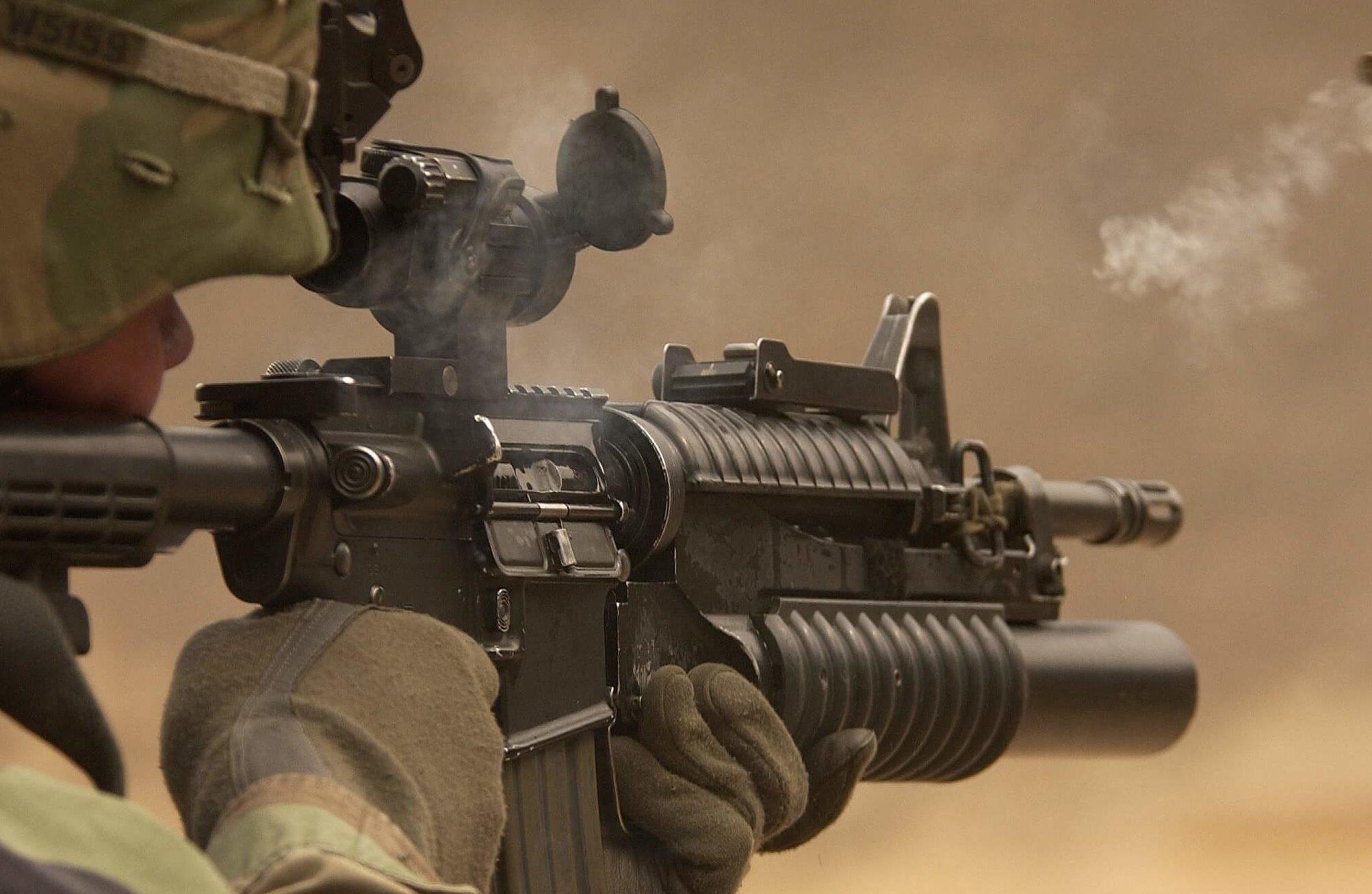 Soldat. Conflit Arménie-Azerbaïdjan