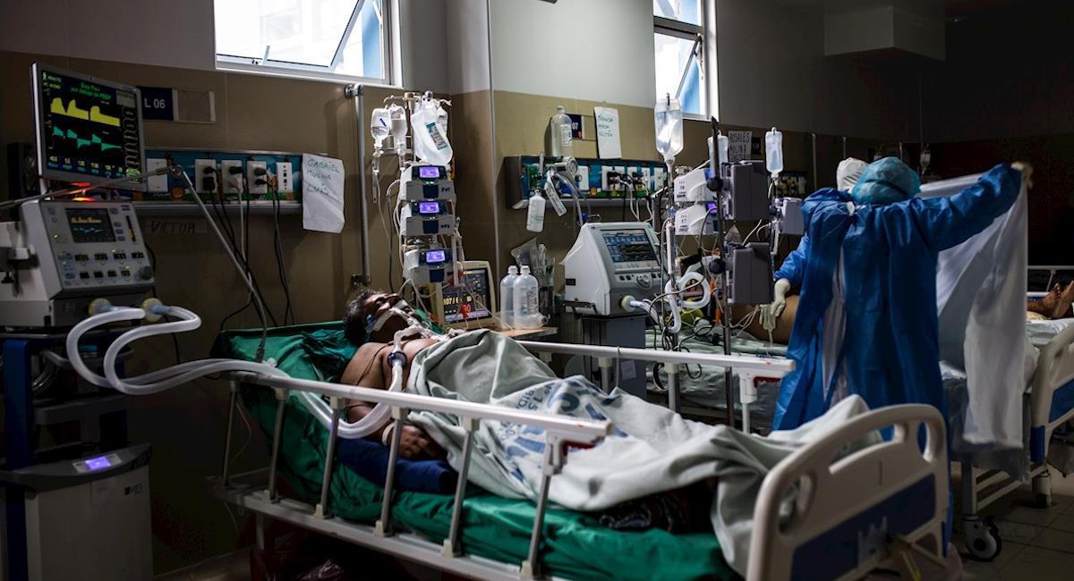 Le Pérou souffre d'une augmentation des cas quotidiens.  Photo: EFE