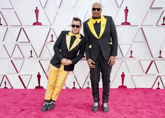 Tapis rouge aux Oscars 2021 17