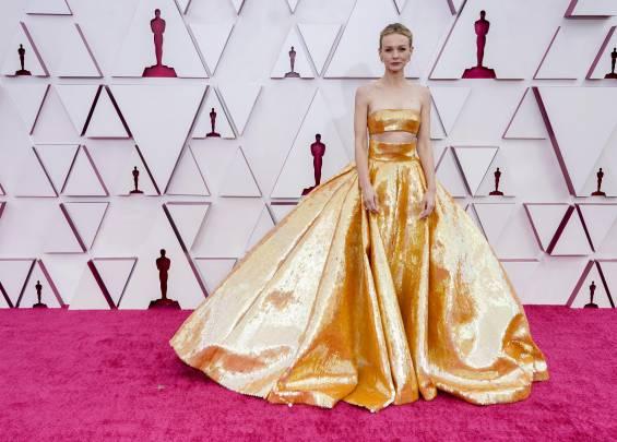 Tapis rouge des Oscars 2021 18
