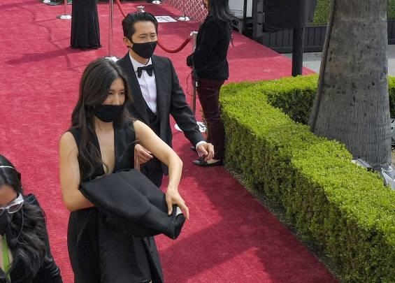 Tapis rouge aux Oscars 2021 8