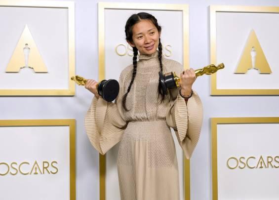 Tapis rouge aux Oscars 2021 3
