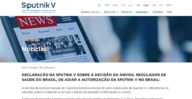 © Spoutnik V / Reproduction