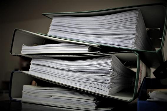 Image illustrative d'un ensemble de fichiers.