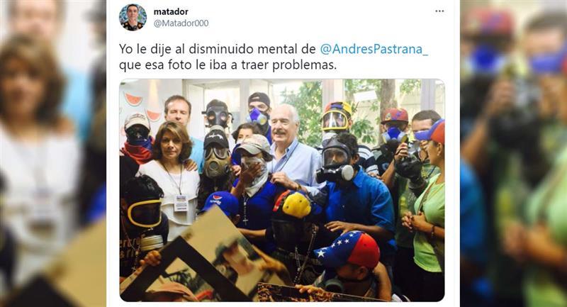 La publication Twitter de Matador.  Photo : Twitter / @ Matador000
