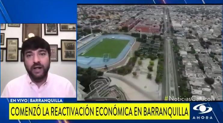 Photo : Twitter Capture d'écran de Noticias Caracol.