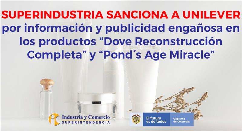 La Surintendance de l'Industrie et du Commerce sanctionne Unilever.  Photo : Twitter @sicsuper
