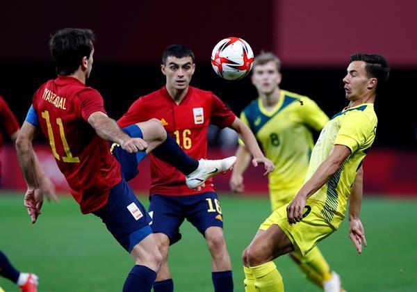 Espagne contre Australie.  Photo : EFE