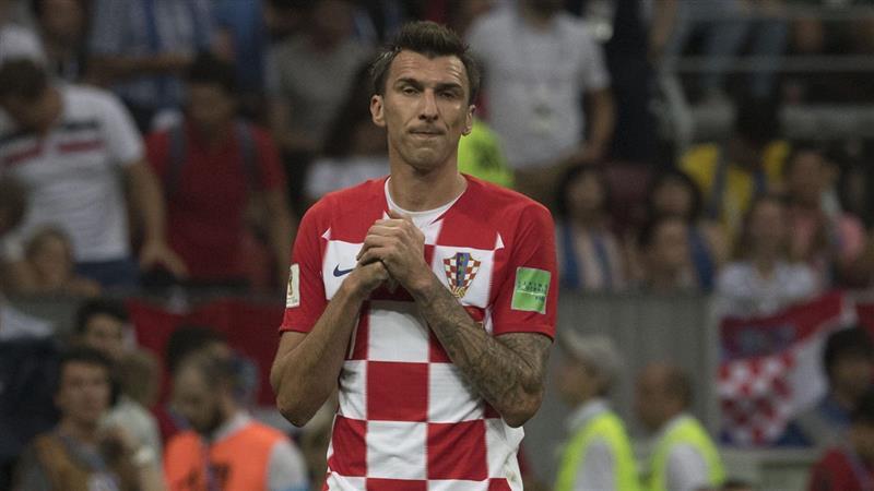 Mario Mandzukic prend sa retraite du football professionnel.  Photo : Fox Sports