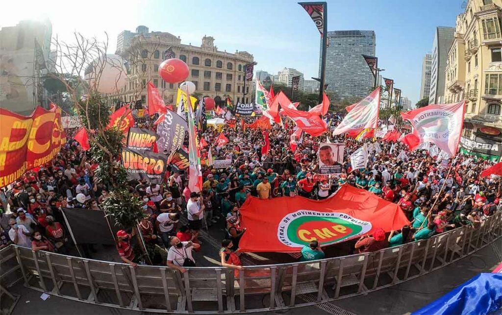 Jour de l'Indépendance à Anhangabaú