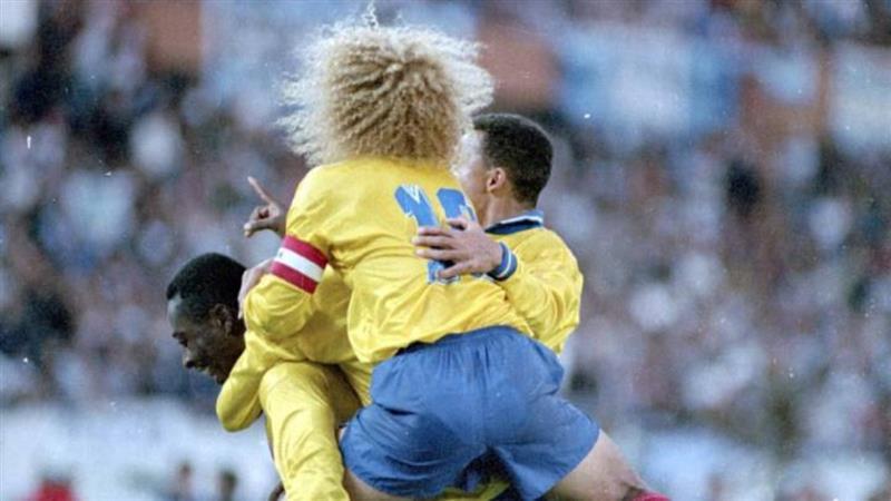 On célèbre le 28e anniversaire de Colombia 5 Argentina 0. Photo : Colprensa
