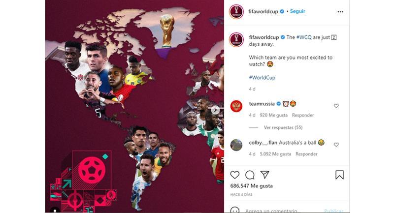 Photo : Instagram FIFA