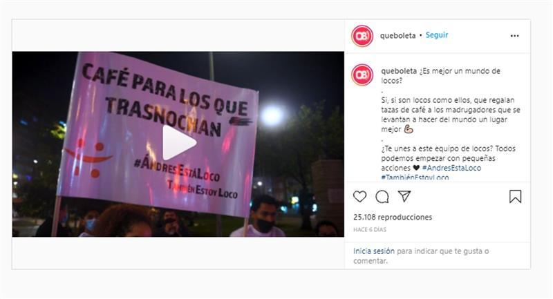 Cliquez pour voir la vidéo.  Photo : Instagram